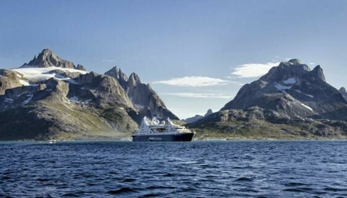 Ocean Diamond in Greenland © Iceland ProCruises